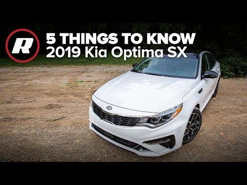 2019 Kia Optima SX Turbo: 5 Things to Know
