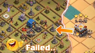 Max TH 11 Failed on This Troll Base   Clash of Clans  