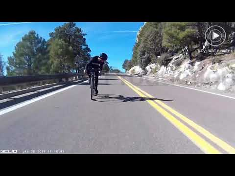 Nick Wize - Cyclist Collides With Deer On Mt. Lemmon