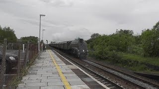 60009 Union of South Africa doing 75 mph through Yatton 24th May 2014