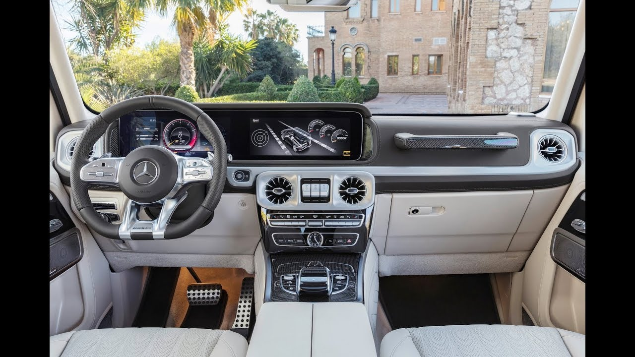 2020 mercedes g wagon interior