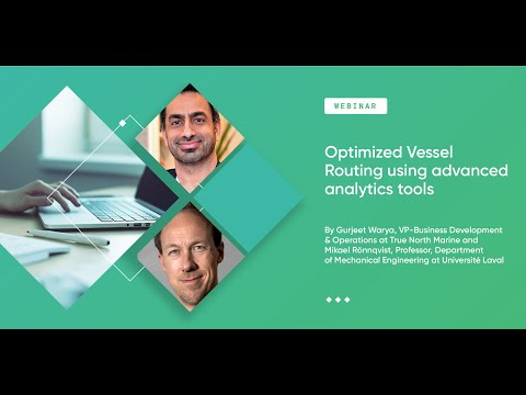 Optimized Vessel Routing using advanced analytics tools