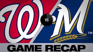 5/6/19: Brewers rally in 7th to push past Nationals