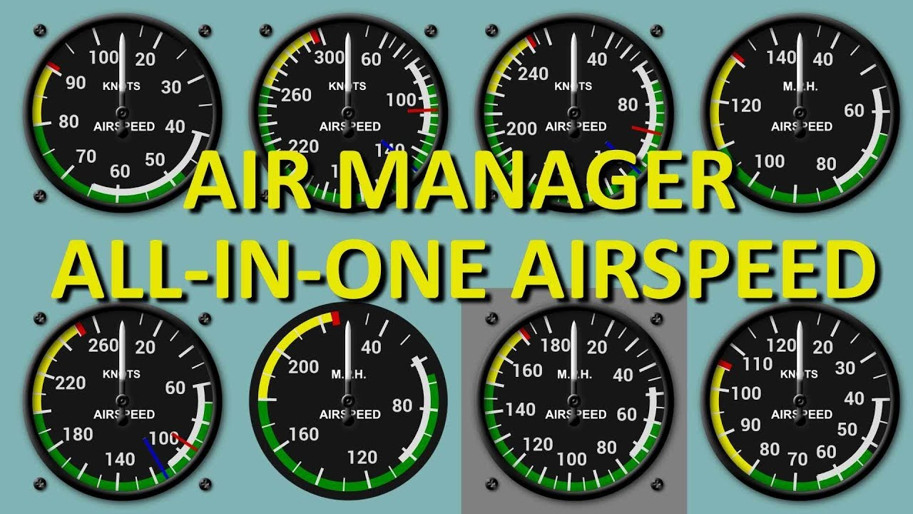 Air Manager Adjustable Airspeed