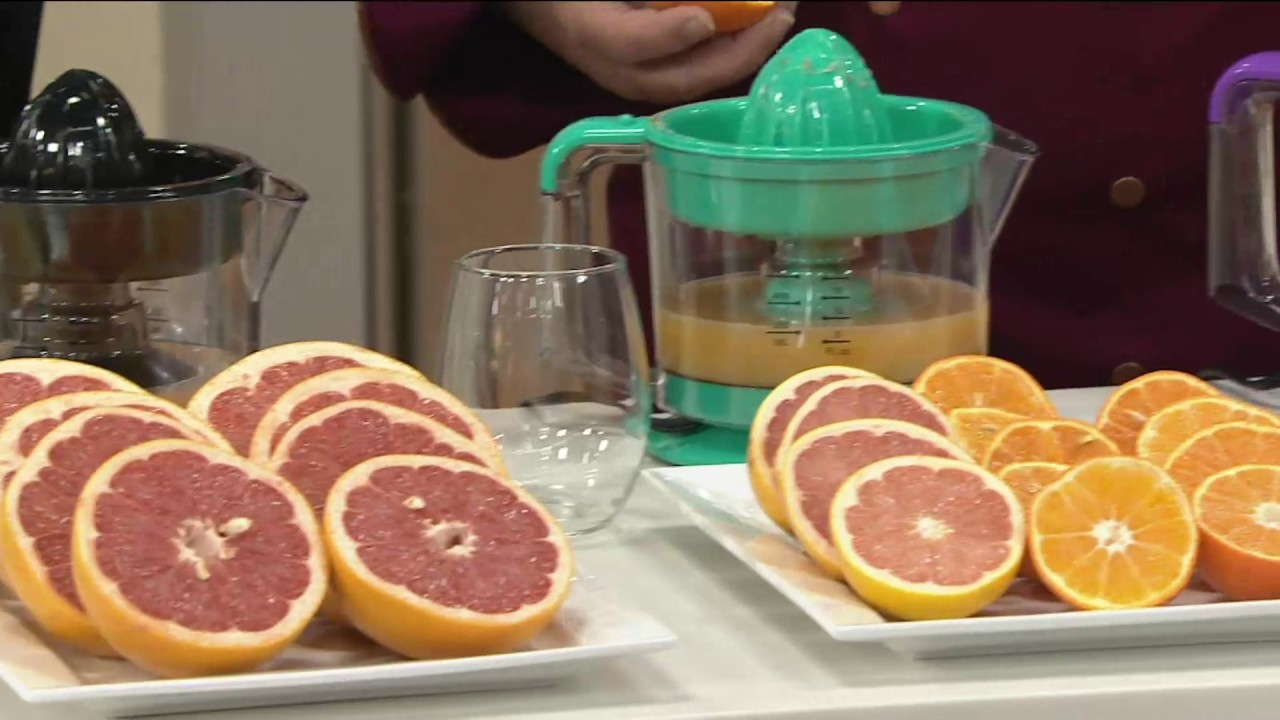 Electric Juicer Pitcher ~ Electric citrus juicer and pitcher on qvc youtube