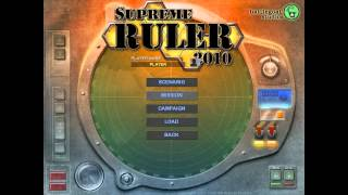 Supreme ruler 2010 for Mac