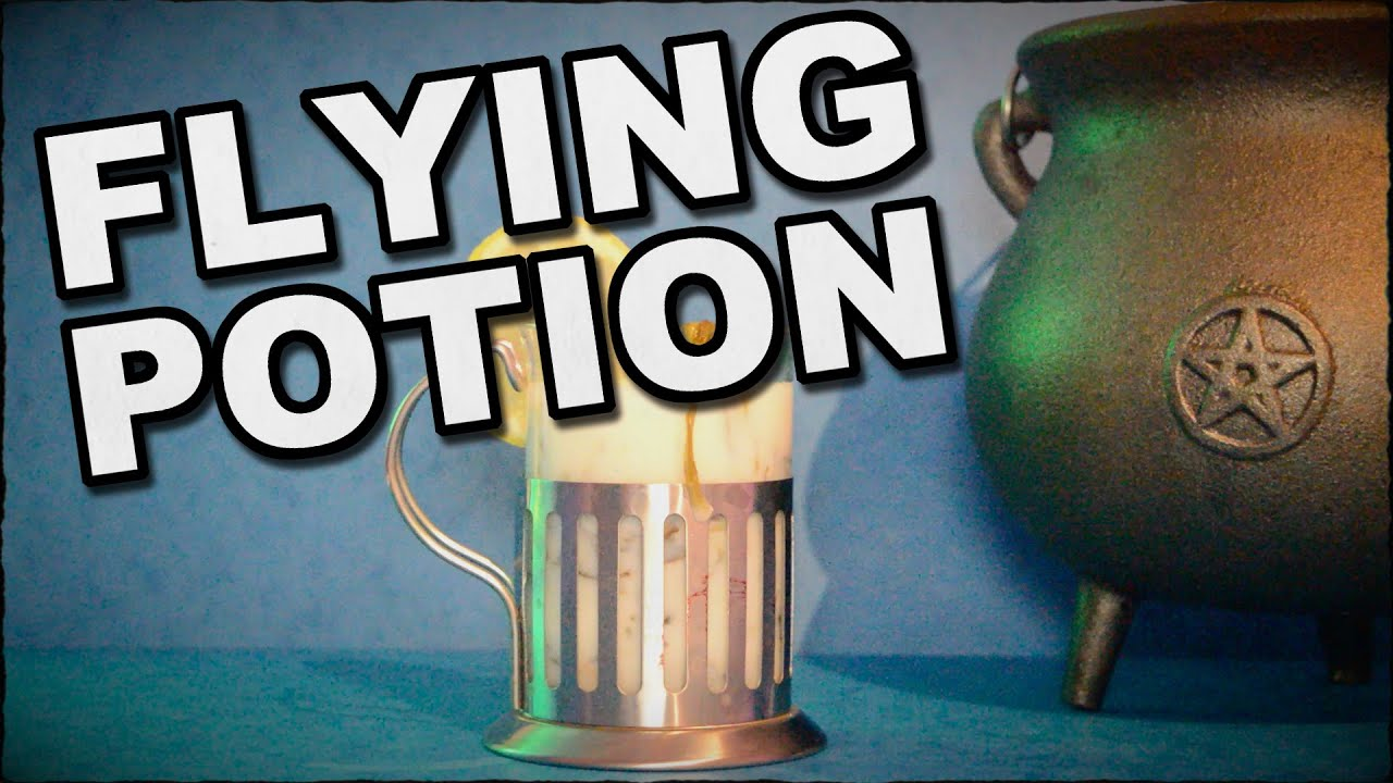 How To Make A Flying Potion - Gives You Wings - YouTube