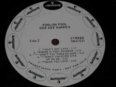Dee Dee Warwick-When Love Slips Away.wmv