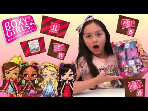 Boxy Girls Fashion Pack Unboxing - Surprise Doll Accessories