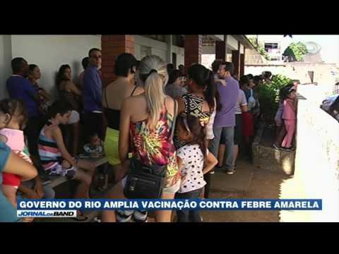 Governo do Rio amplia vacinação contra a febre amarela