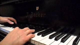 Dan Balan и Вера Брежнева  - Лепестками Слёз (piano cover) с листа.