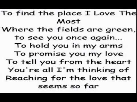 HQ My Love - Westlife with Lyrics and Audio (320kb).mpg