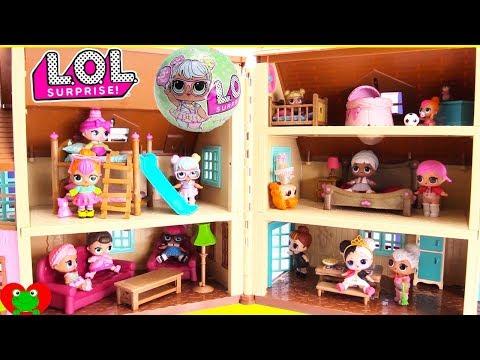 Lol Surprise Doll House Bunk Beds And Bedrooms Poznavatelnye I