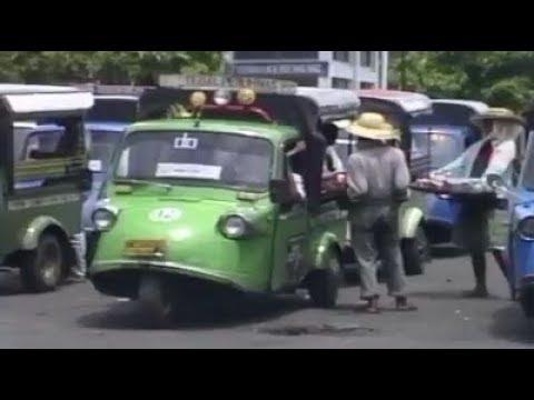 Bemo Roda Tiga Jaman Dulu Di Bali Ini Tinggal Kenangan