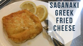 traditional greek saganaki