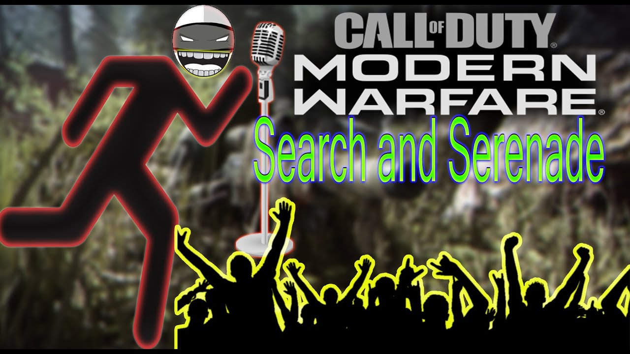 Call of Duty Modern Warfare Search and Serenade Players *Funny reactions*