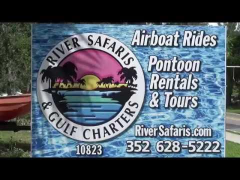 Homosassa River Airboat Tour, Homosassa, Florida