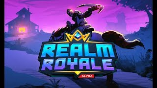 🔴 [LIVE] REALM ROYALE-NEW BATTLE ROYALE LOOKS LIKE FORTNITE