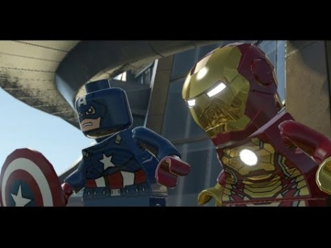 LEGO Marvel Super Heroes 100% Walkthrough Part 5 - Rebooted, Resuited (Mandarin & Aldrich Killain)