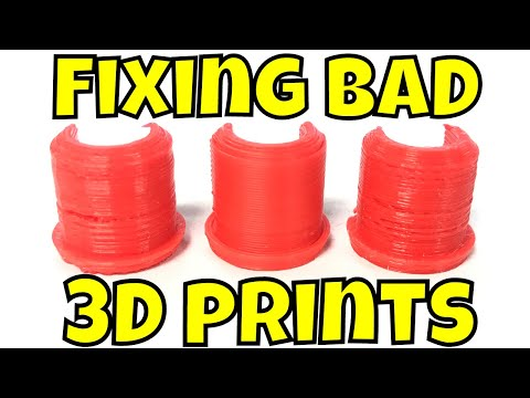 Fixing Bad 3D Prints on a Creality Ender 3, CR-10 or CR-10 Mini