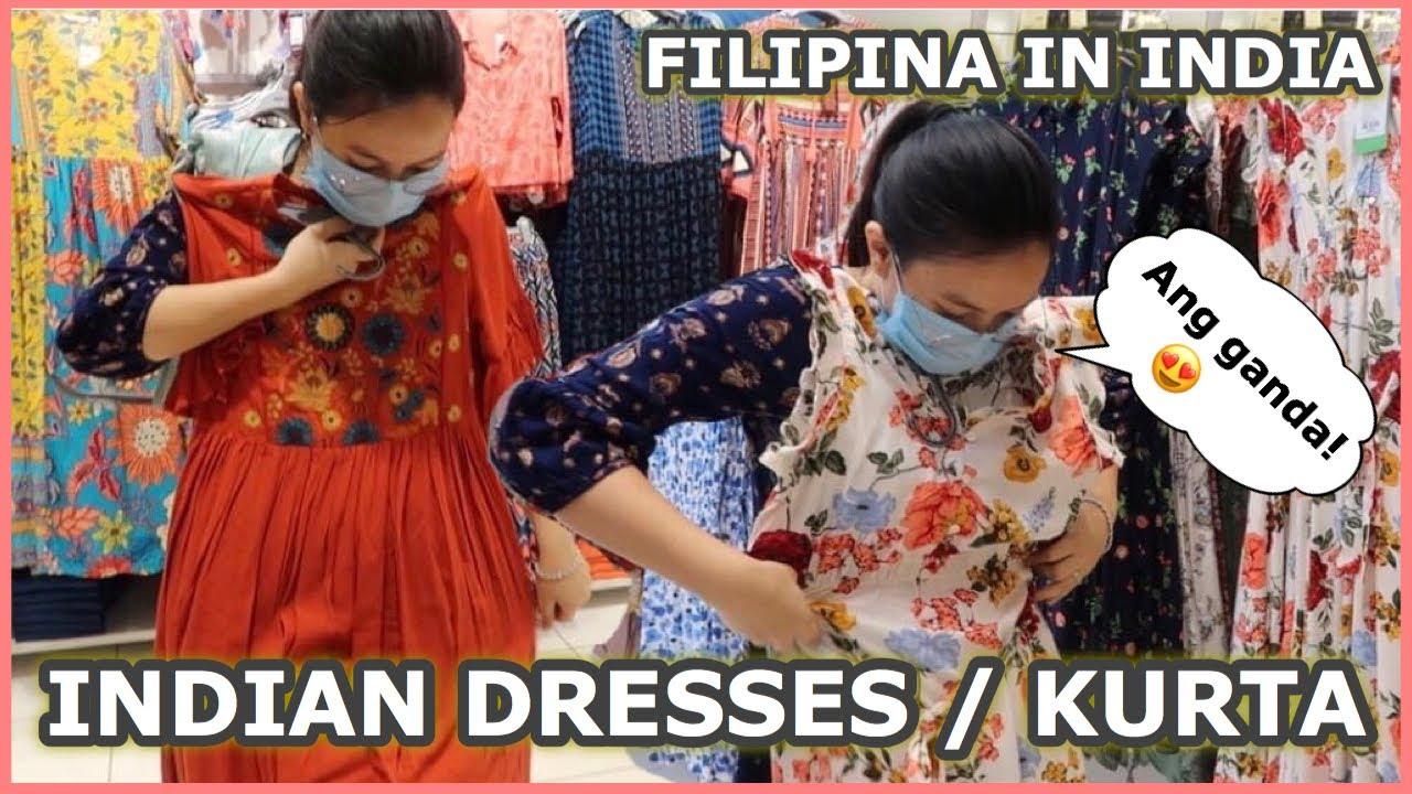 INDIAN DRESSES ANG GAGANDA... NAKABILI AKO.. MALING AKALA   Filipina in India🇵🇭🇮🇳