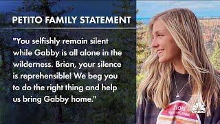 Gabby Petito's boyfriend named a 'person of interest'