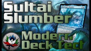 MTG – Sultai Slumber Modern Deck Tech for Magic: The Gathering!
