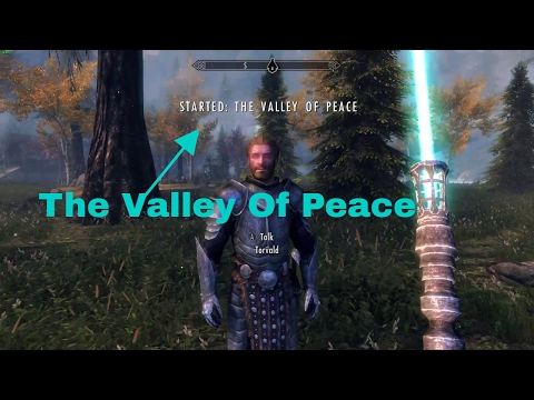 Valley of Peace Skyrim Special Edition Remastered #1 It Begins