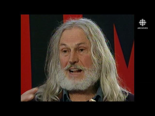 Entrevue avec le sculpteur militant Armand Vaillancourt en 2001
