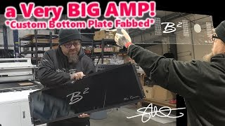 Fabbing a Custom Bottom Plate for a VERY BIG amp | B2 Audio M15R The Raven