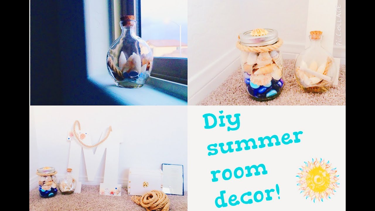 diy summer room decor ocean and nautical - Ocean Decor
