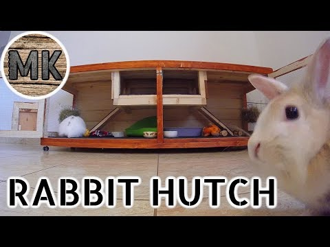 DIY Indoor Rabbit Hutch