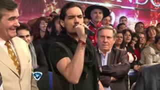 Showmatch 2014 - Mirá las bromas de José María Listorti y el Maestruli a Adriana Aguirre