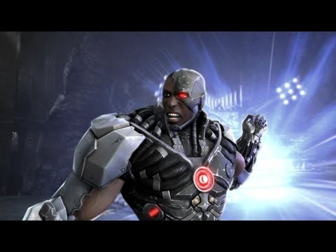 Injustice Gods Among Us - S.T.A.R LABS  Cyborg - ☆☆☆ COMPLETE
