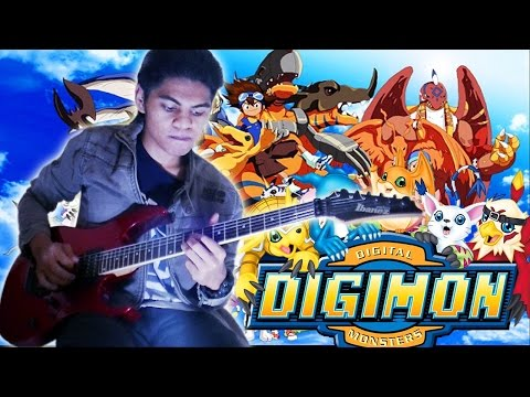 OST Digimon Adventure Butterfly Versi Indonesia__Guitar Cover By Mr. JOM