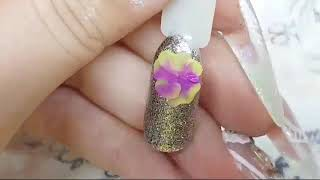 Запись эфира Дизайн ногтей лепка Лепка гелем пластилин Рисовашки Шулунова Дарья