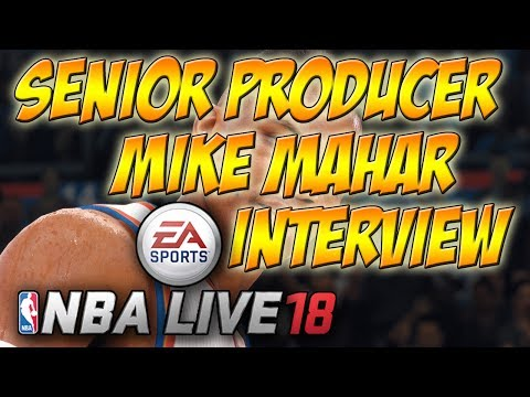 NBA LIVE 18 | EA PLAY INTERVIEW WITH SENIOR PRODUCER MIKE MAHAR