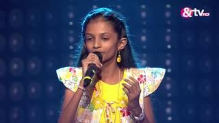 Shreya Sriranga - Blind Audition - Episode 6 - August 07, 2016 - The Voice India Kids