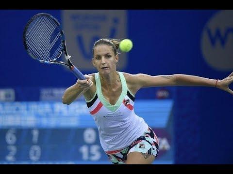 2017 Wuhan Third Round | Karolina Pliskova vs. Wang Qiang  | WTA Highlights