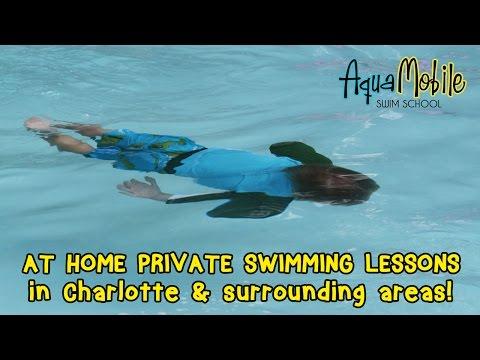 Charlotte, North Carolina at Home Swim Lessons