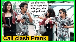 CALL CLASH PRANK ON GIRL'S ( GONE WRONG ) | CALL CLASH PRANK WITH INSULTING TWIST | KARAN KOTNALA