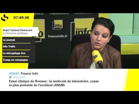 """Démission de Manuel Valls : un bruit de """"chiotte"""" pour Najat Vallaud-Belkacem"""