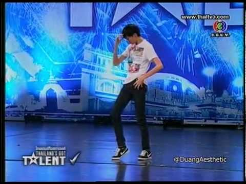 Poppin-Thailand Got Talent 2012 Audition