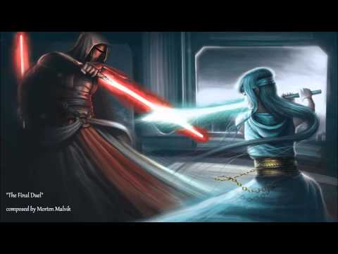 Star Wars music  The Final Duel  fanmade orchestral theme