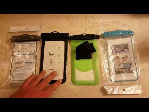 водонепроницаемый чехол для подводной съемки для телефона КАКОЙ ВЫБРАТЬ? лучший с Алиэкспресс купить