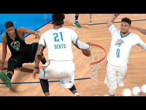 NBA 2k17 MyCAREER - GOATbrook Turn Up! Triple Ankle Breaker on Greek Freak! Ep. 151