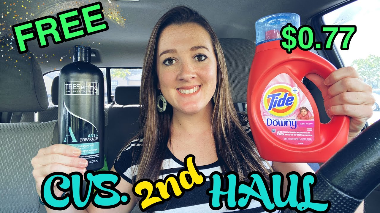 CVS 2nd Haul FREE Tresemme & $0.77 Tide Liquid! 10/25-31/2020