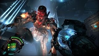 10 minutes of Hard Reset Redux gameplay PS4\Xbox One\PC