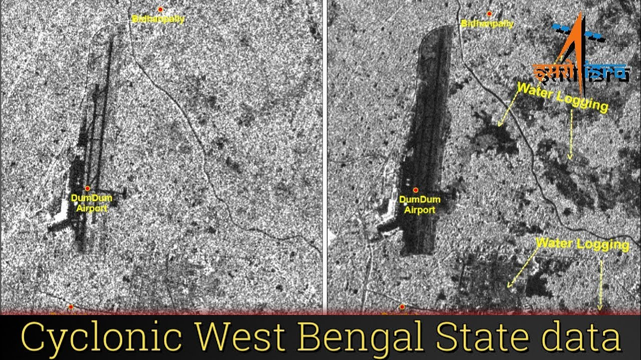 West Bengal State - Cyclone AMPHAN | ISRO Satellite data for impact assessment