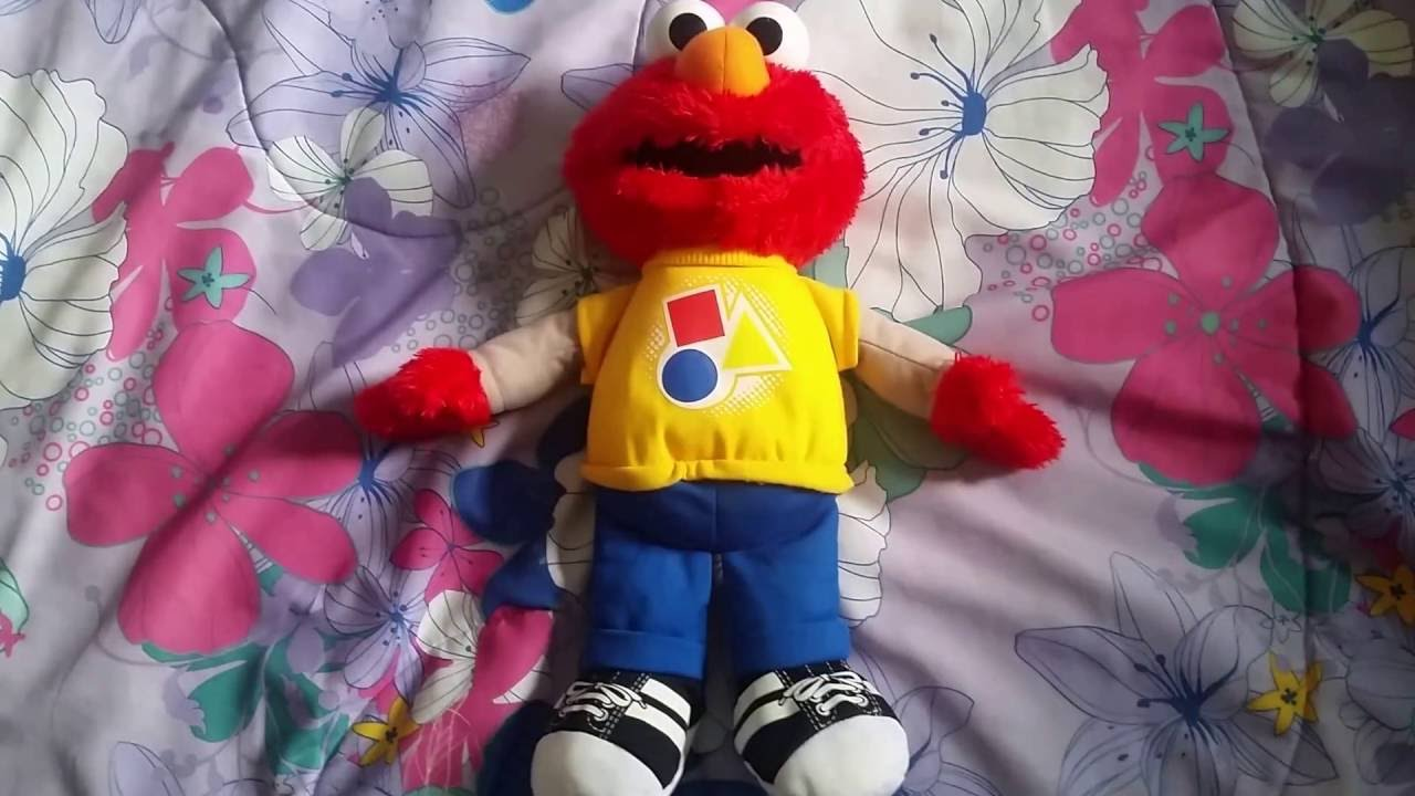 Sesame Street Rockin\' Shape And Color Elmo - Demo - YouTube